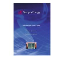 Sempra Energys - Unternehmensfolder