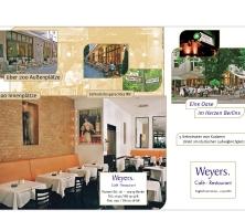 Restaurant Weyers - Unternehmensflyer